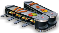 Emerio RG-109528.1 Raclette-Grill for 8 Personen Galda Grils