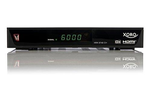 Xoro HRK 7688, HD Kabelreceiver, PVR-Ready, black uztvērējs