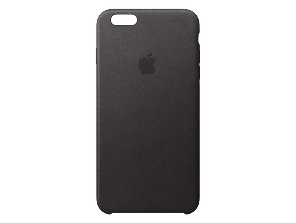 iPhone 6s Leather Case   Black MKXW2 aksesuārs