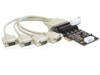 Delock PCI Express Card > 4 x Serial with voltage supply karte