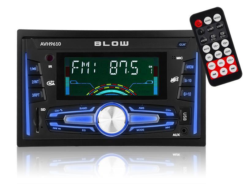 BLOW AVH-9610 2DIN automagnetola