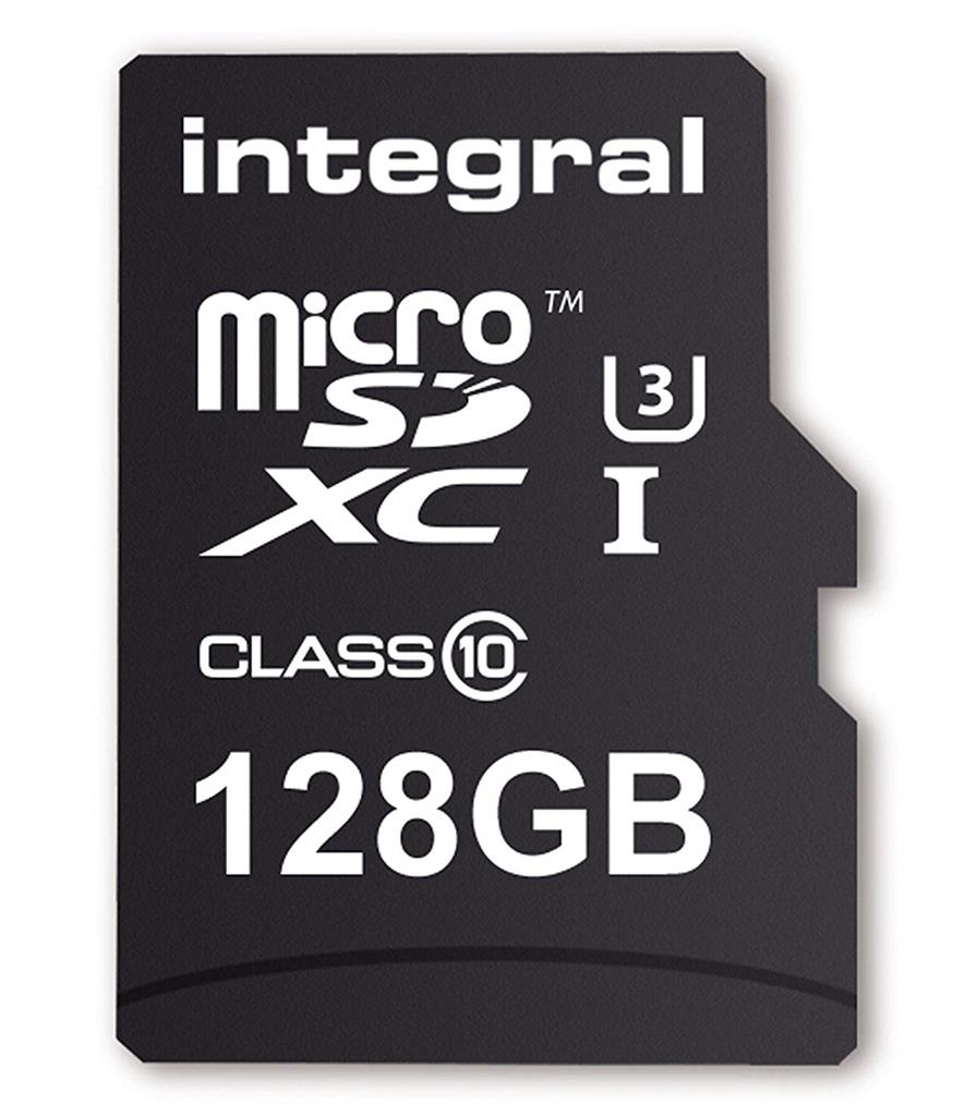 Integral MICRO SDXC 128GB (with Adapter to SD Card) atmiņas karte