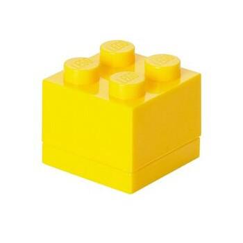 LEGO Mini Box 4 yellow LEGO konstruktors