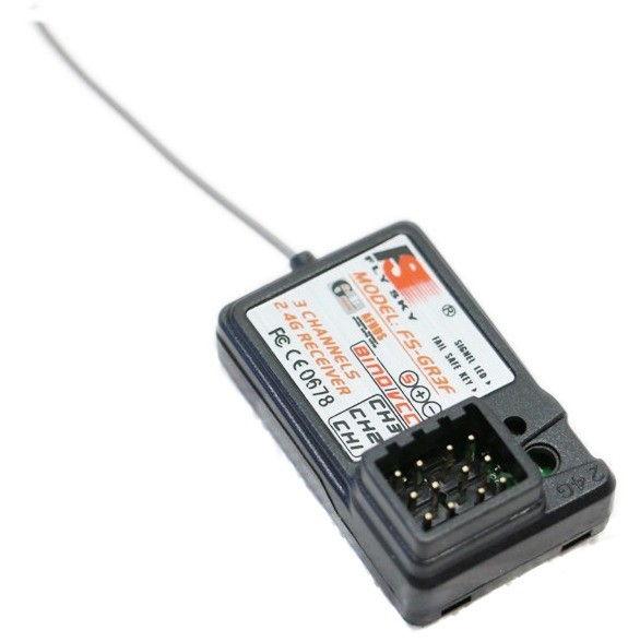 FlySky Receiver FS-GR3F 3CH 2.4GHz (FS-GR3F)