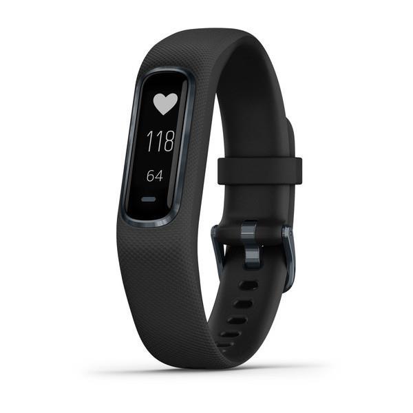 Garmin Vivosmart 4, E EU, Black/Slate, L Viedais pulkstenis, smartwatch