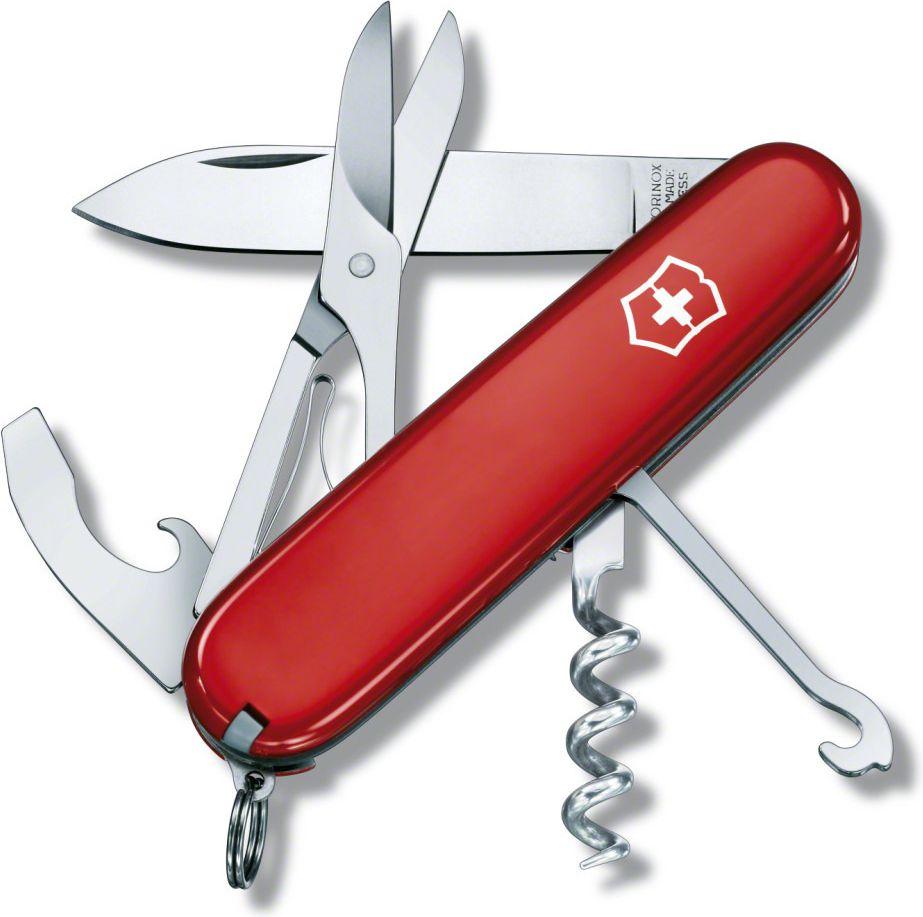Victorinox Compact Red Swiss Army Knife VIC-1.3405 dārza nazis