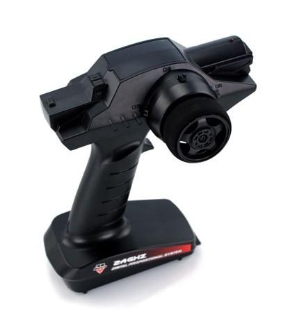 Himoto : MT-300 3CH 2.4GHz pistol radio - (Lietota bez baterijas vāciņa)