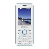 MaxCom MM136 Classic Dual SIM White/Blue Mobilais Telefons