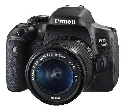 EOS 750D 18-55S 4CE     0592C025AA Spoguļkamera SLR
