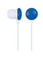 Gembird 001-B universālas Mp3 / Telefona 3.5mm Stereo In-Ear Austiņas bez mikrafona Zilas austiņas