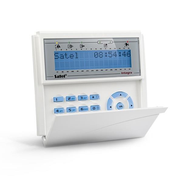 KEYPAD LCD /INTEGRA BLUE/INT-KLCD-BL SATEL