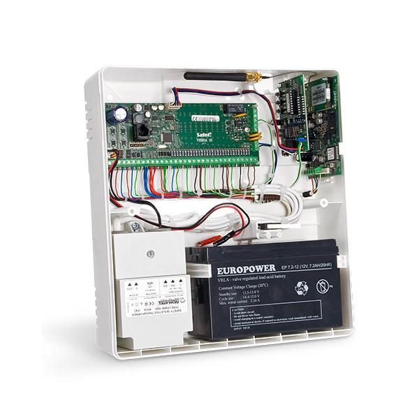 CONTROL PANEL CASE PLASTIC/OPU-4P SATEL drošības sistēma