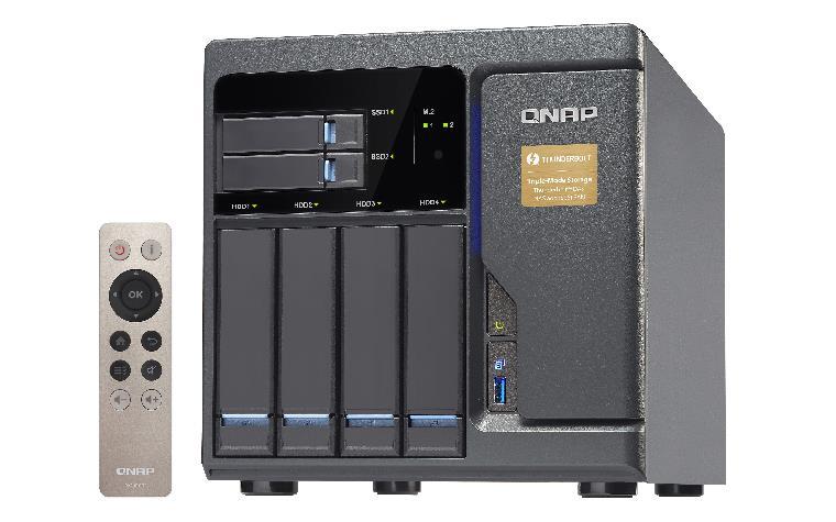 TVS-682T-i3-8G 4x0HDD 2 x0SSD 2xM.2 2xThB 3xHDM