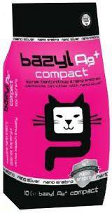 CELPAP BAZYL 10l Ag+ COMPACT piederumi kaķiem