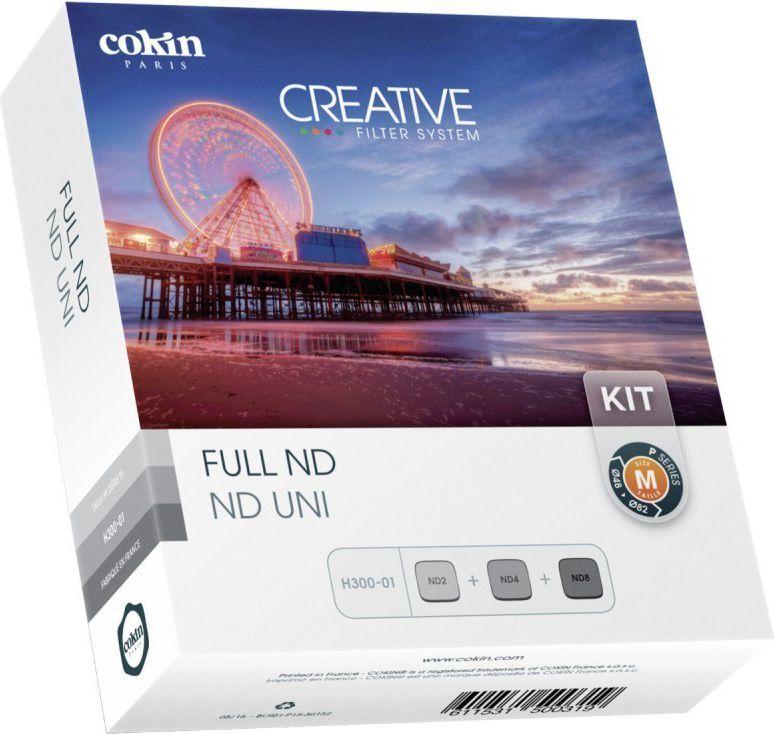 Cokin H300-01 Full ND Kit inkl. 3 Filter foto objektīvu blende