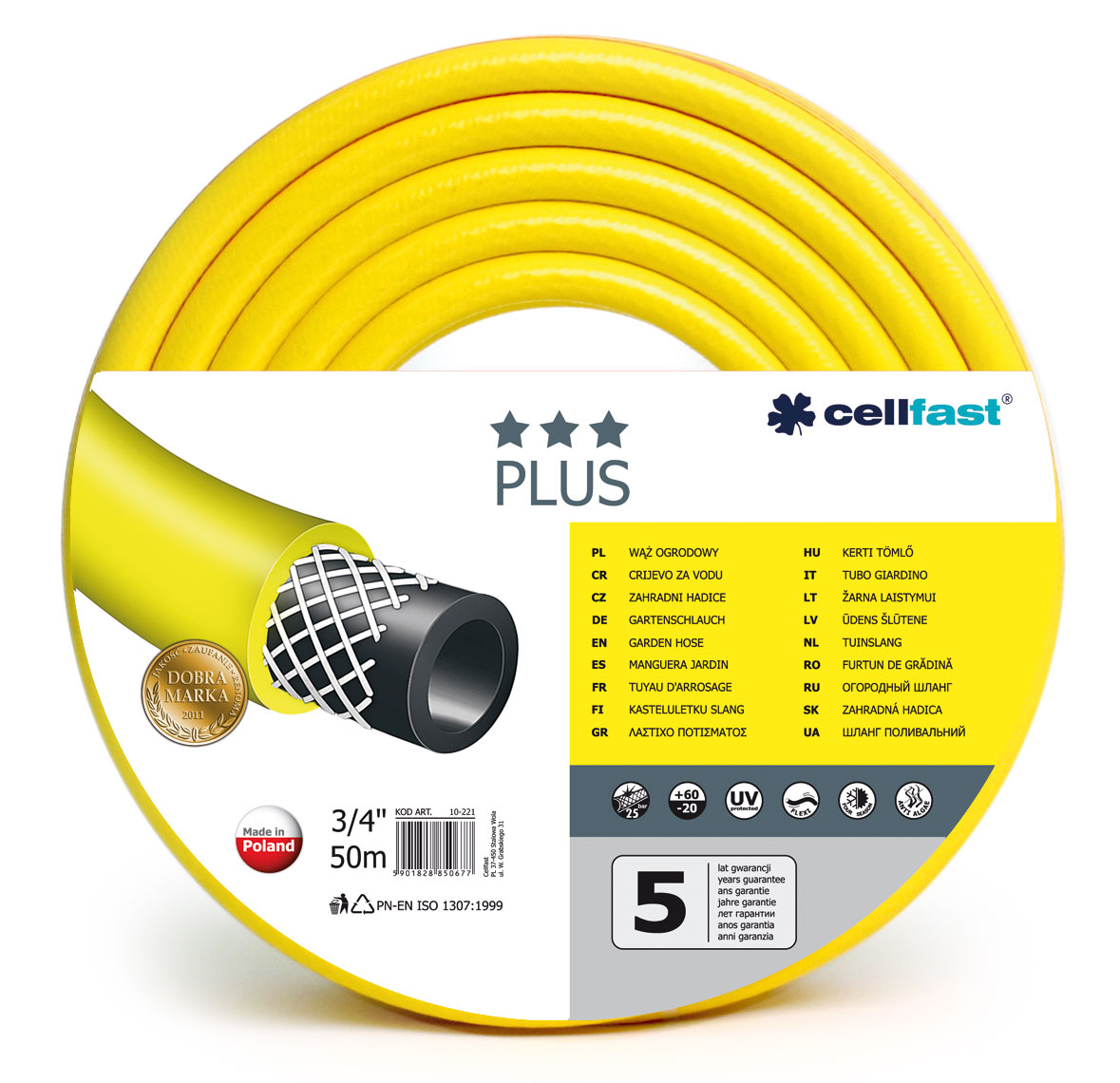 Cellfast Garden hose Plus 3/4