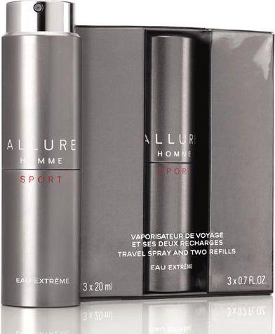 Chanel  Allure Homme Sport Eau Extreme EDT 3x20ml 3145891235005 Vīriešu Smaržas