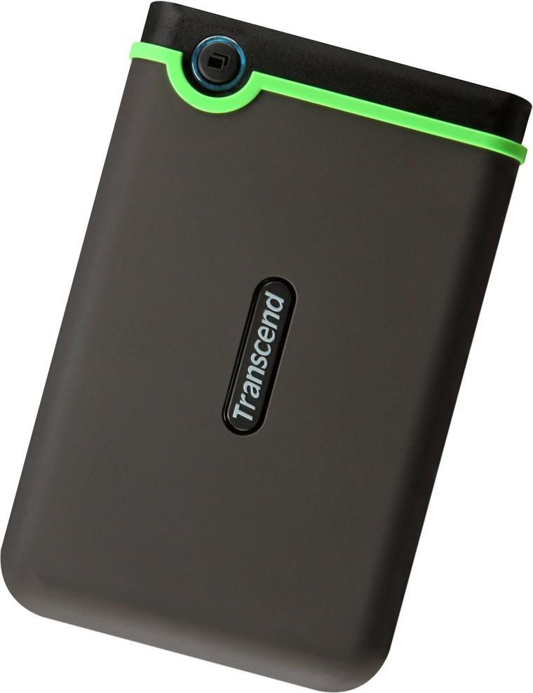 Transcend Slim StoreJet 2.5'' M3S, 1 TB, Portable HDD Ārējais cietais disks