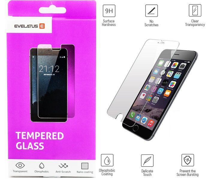 Evelatus Apple iPhone 5/5s/SE Tempered glass aizsardzība ekrānam mobilajiem telefoniem