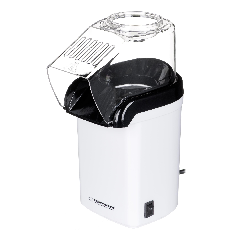 Popcorn maker Esperanza Poof EKP005W (1200 W; white color) AGDESPPOP0001
