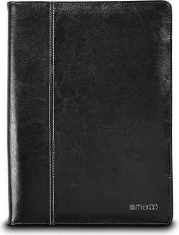 Maroo Kickstand Leather Folio Surface 3 Black planšetdatora soma
