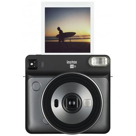 Fujifilm Instax Square SQ6 Instant Camera + Square glossy (10pl) Graphite grey Digitālā kamera