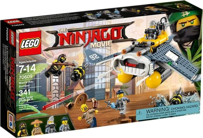 LEGO The Ninjago Movie - Manta Ray Bomber - 70609 LEGO konstruktors