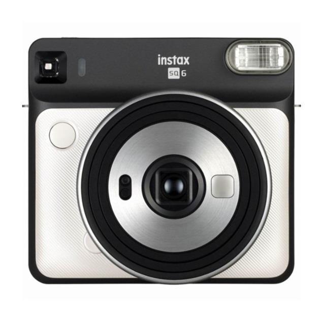 Fujifilm Instax Square SQ6 Instant Camera + Square glossy (10pl) Peral white Digitālā kamera