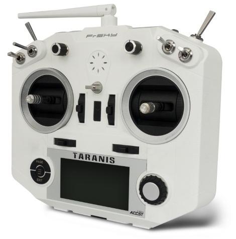 Transmitter FrSky Taranis Q X7 16CH 2.4GHz - white (rezerves daļām, bez pamatplates)