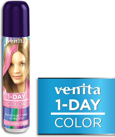 Venita 1-Day color spray 8 pink world