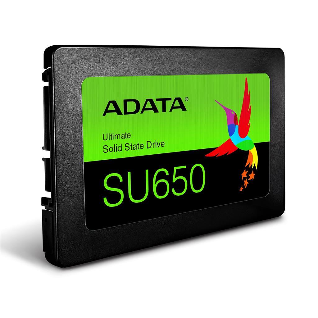 ADATA Ultimate SU650 240GB SATA3 (Read/Write) 520/450 MB/s SSD disks
