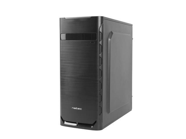 Natec Office PC case APION , USB 3.0, Black Datora korpuss