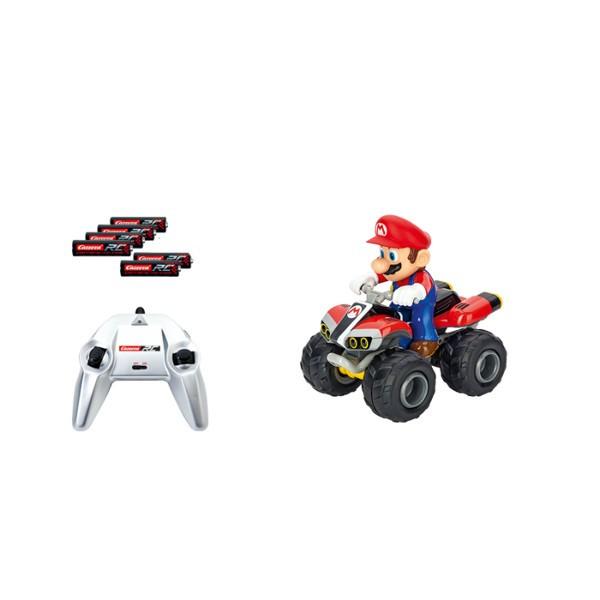 RC Quad Nintendo Mario Radiovadāmā rotaļlieta
