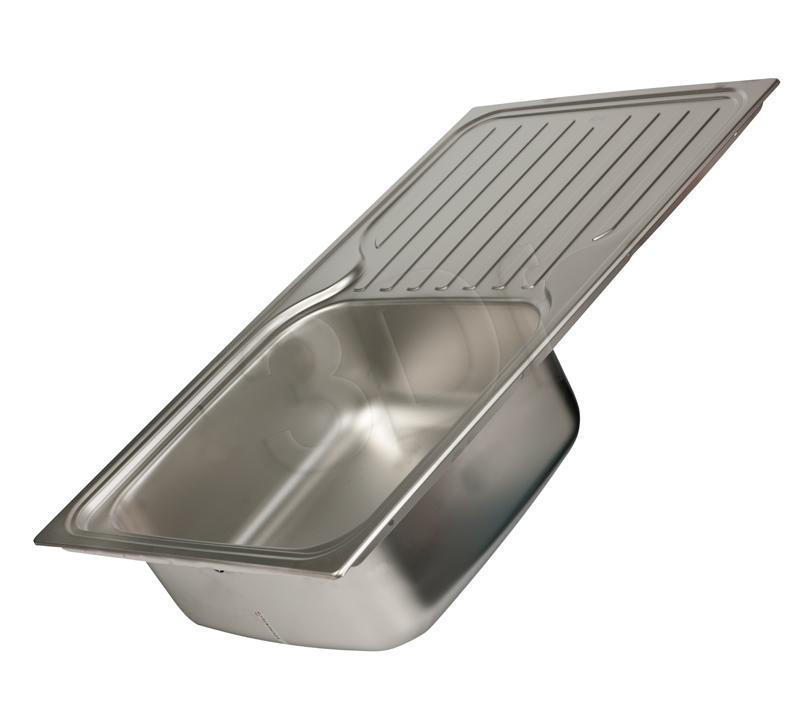 Kitchen sink TEKA CLASSICO 1C1E MTX 10119057 (Stainless steel; inox color) CLASSICO 1C1E MTX 10119057 Izlietne