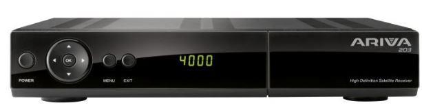 Satellite HD TV Tuner Ferguson Ariva 203 uztvērējs