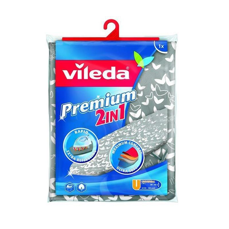 Vileda Premium 2in1 Ironing board cover gludināmais dēlis, veļas žāvētājs
