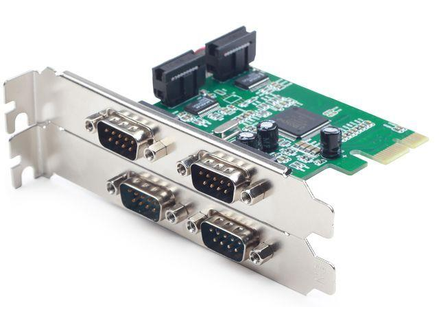 Gembird PCI Express card > 4x serial karte