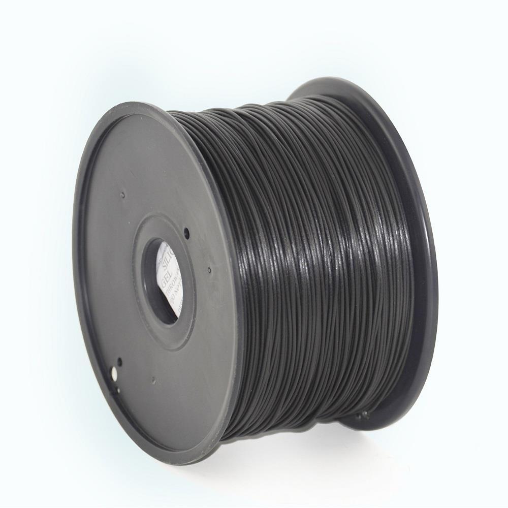 Filament Gembird ABS Black | 1,75mm | 1kg 3D printēšanas materiāls