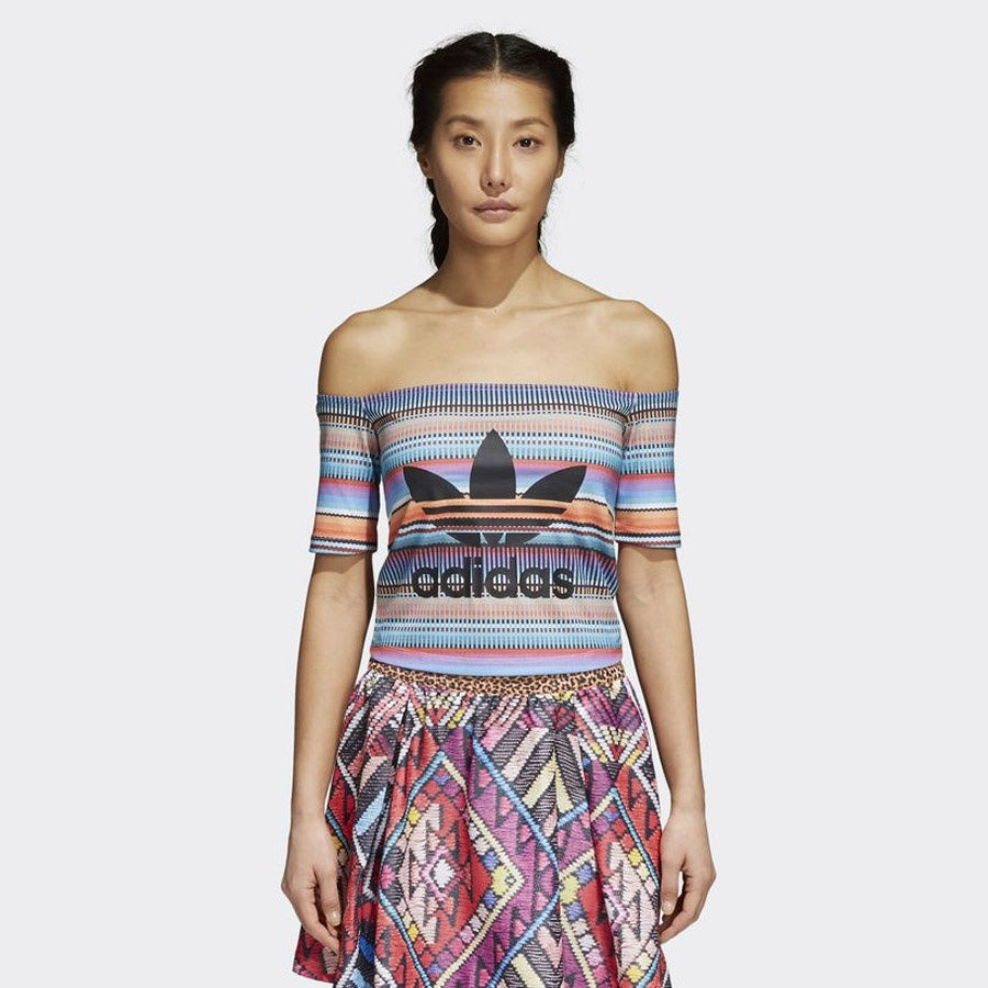 Adidas Koszulka damska Off Should Top multikolor r. 38 (CW1392) CW1392