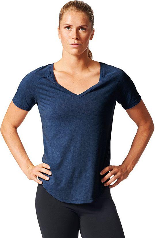 Adidas Koszulka Image Tee granatowy r. S BR2129