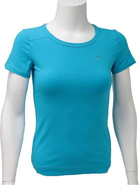 Adidas Koszulka damska Ess Tee niebieska r. 34 O59845