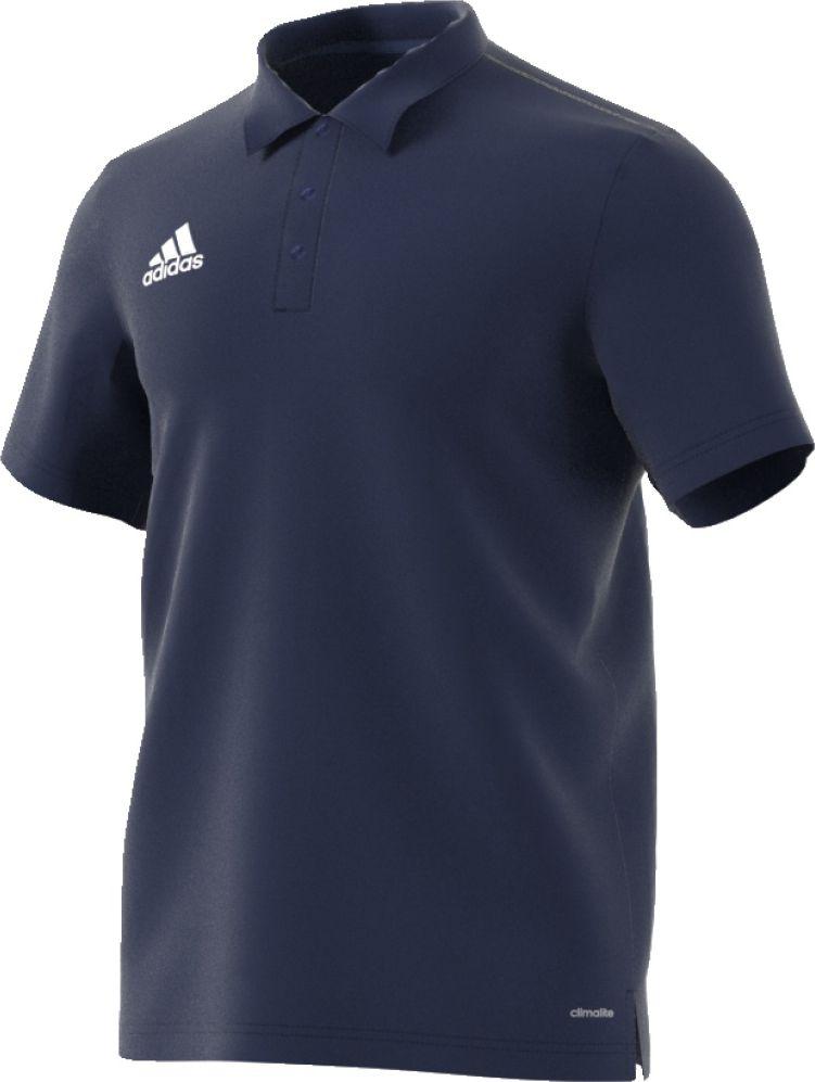 Adidas Koszulka meska Core 15 Polo granatowa r. S S22349