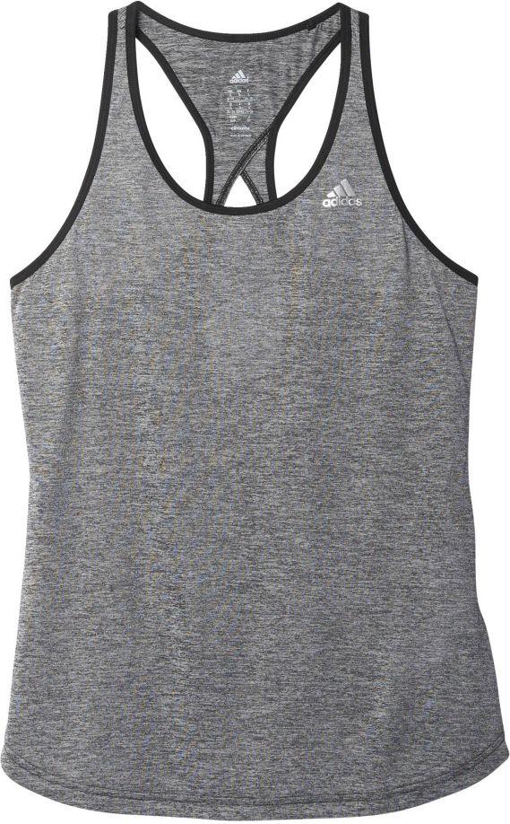Adidas Koszulka Keyhole Tank srebrna r. XS AJ1050