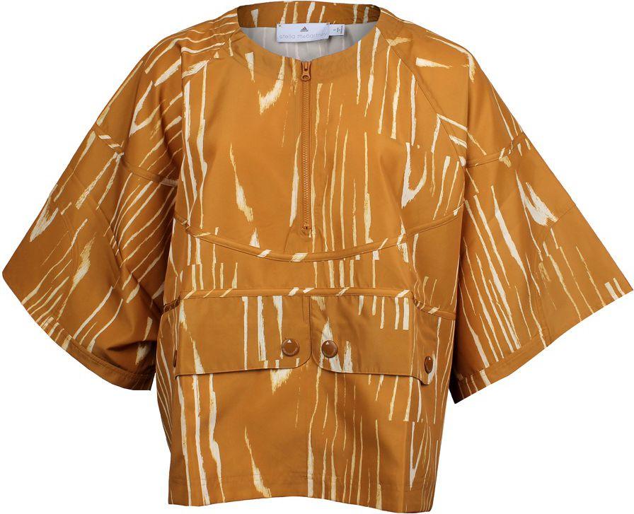 Adidas Koszulka damska Stella McCartney Run Nylon Tee pomaranczowa r. L  (M61152) M61152