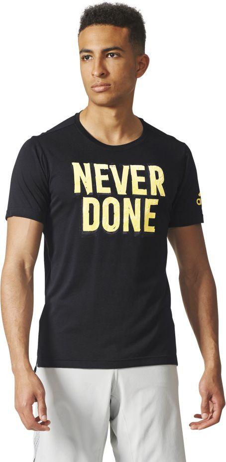 Adidas Koszulka meska Freelift NVR DN czarna r. L (CD8447) CD8447