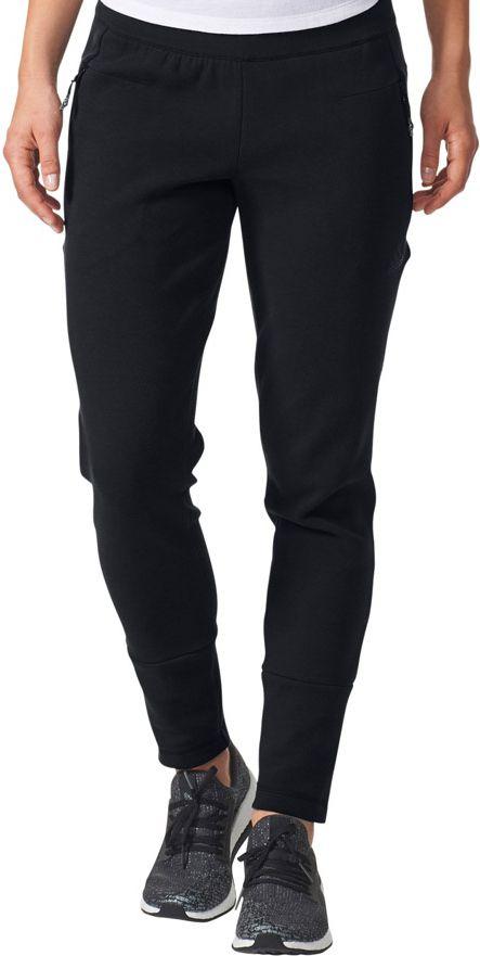 Adidas Spodnie ZNE Slim Pant czarne r. S (BR1900) BR1900