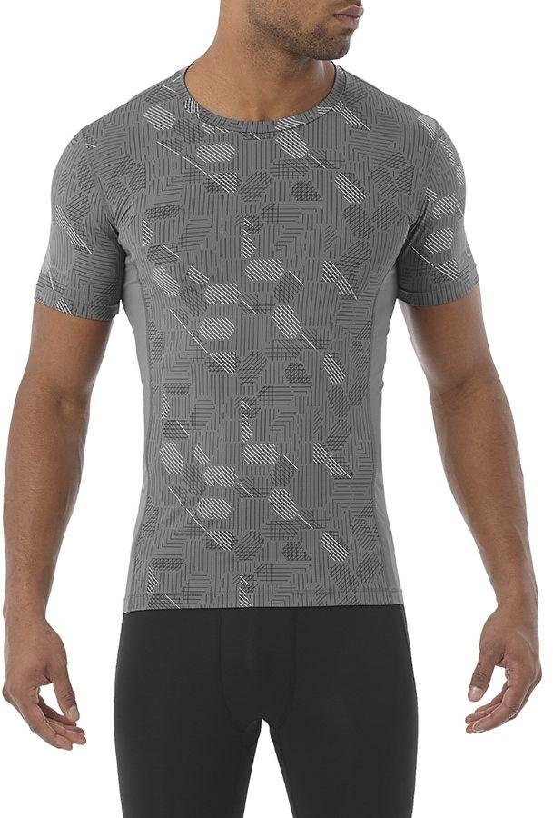 Asics Koszulka meska Focus Tight GPX szara r. XL (141808 0720) 141808 0720
