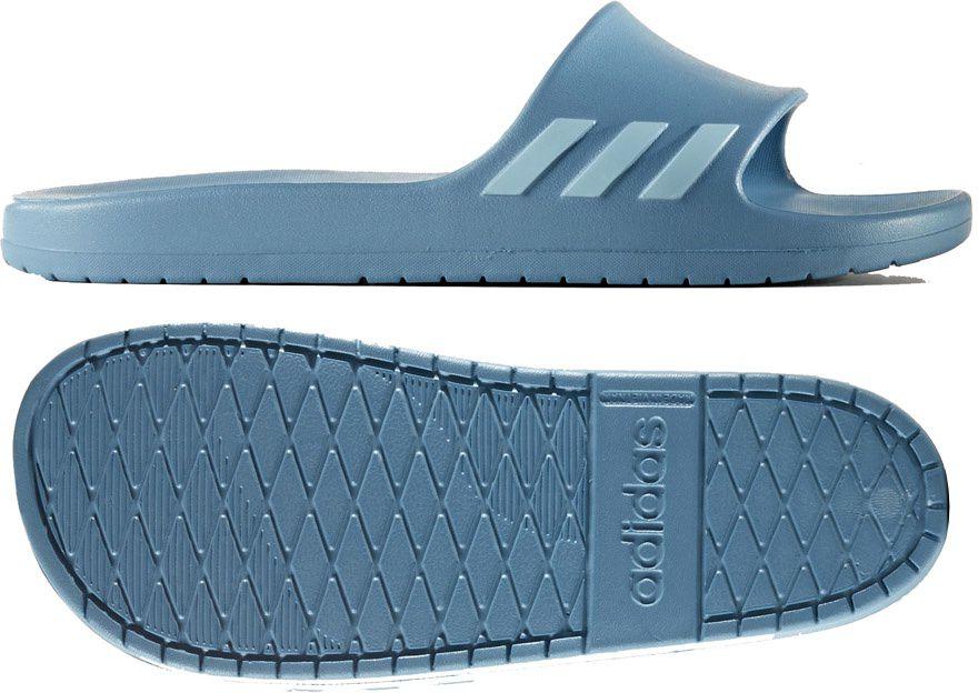 Adidas Klapki damskie Aqualette  niebieskie r. 40.5 (CG3054) CG3054