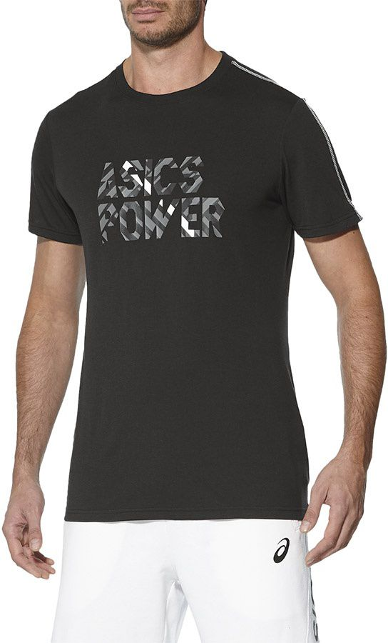 Asics Koszulka meska Power GPX Top czarna r. L (143609 0904) 143609 0904