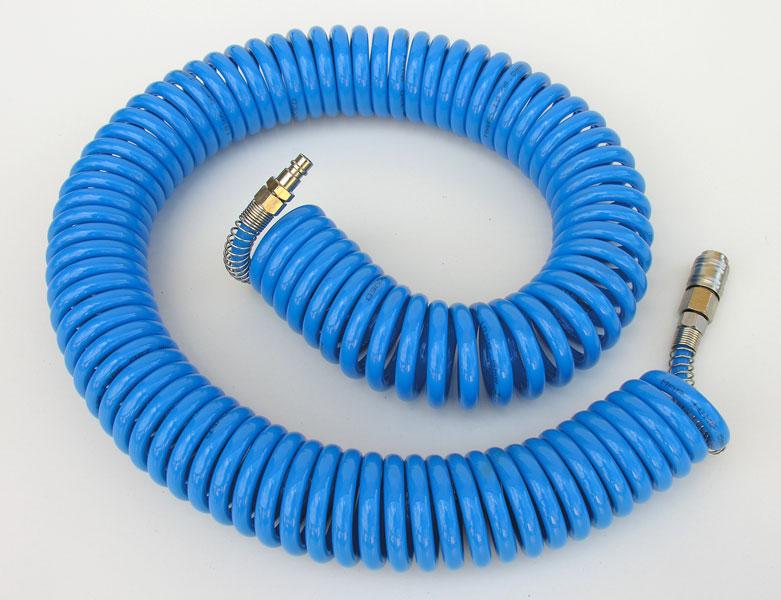 Adler Waz pneumatyczny spiralny 8mm 15m (MAR1409212) MAR1409212